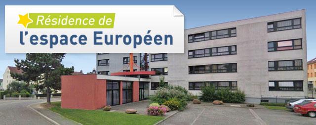 R sidence de l 39 espace europeen location de studio - Logement etudiant strasbourg meuble ...